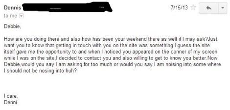 dennis email 2