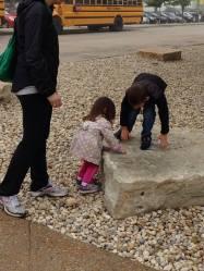 kids at zoo