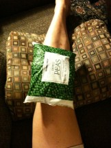 Icing the knee